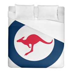 Roundel Of The Australian Air Force Duvet Cover (full/ Double Size) by abbeyz71