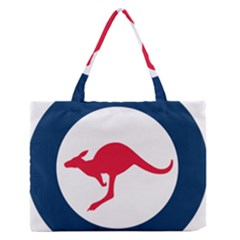 Roundel Of The Australian Air Force Zipper Medium Tote Bag by abbeyz71