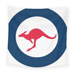 Roundel Of The Australian Air Force Square Tapestry (large) by abbeyz71