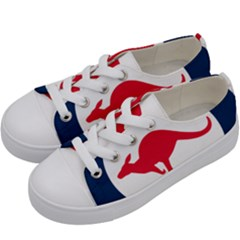 Roundel Of The Australian Air Force Kids  Low Top Canvas Sneakers by abbeyz71