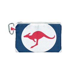 Roundel Of The Australian Air Force Canvas Cosmetic Bag (small) by abbeyz71
