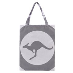 Low Visibility Roundel Of The Australian Air Force Classic Tote Bag by abbeyz71