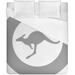 Low Visibility Roundel Of The Australian Air Force Duvet Cover (california King Size) by abbeyz71