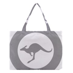 Low Visibility Roundel Of The Australian Air Force Medium Tote Bag by abbeyz71