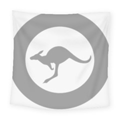Low Visibility Roundel Of The Australian Air Force Square Tapestry (large) by abbeyz71