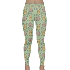 Hamster Pattern Classic Yoga Leggings