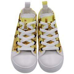 Gold Bars Feingold Bank Kid s Mid Top Canvas Sneakers
