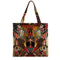 Hail Fine Art Print Grocery Tote Bag by Sapixe