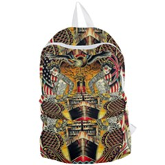 Hail Fine Art Print Foldable Lightweight Backpack by Sapixe