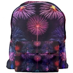 Happy New Year New Years Eve Fireworks In Australia Giant Full Print Backpack