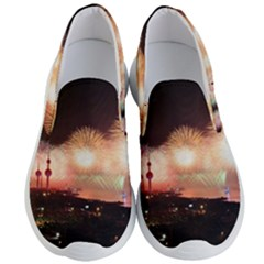 Kuwait Liberation Day National Day Fireworks Men s Lightweight Slip Ons by Sapixe