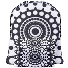 Mandala Geometric Symbol Pattern Giant Full Print Backpack by Sapixe