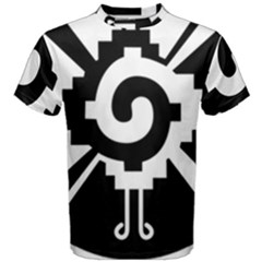 Maya Calendar Native American Religion Men s Cotton Tee by Sapixe