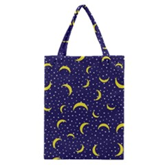 Moon Pattern Classic Tote Bag by Sapixe