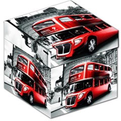 London Bus Storage Stool 12