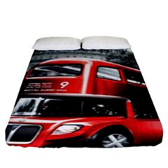 London Bus Fitted Sheet (king Size)