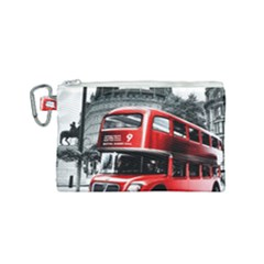 London Bus Canvas Cosmetic Bag (small)