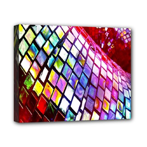 Multicolor Wall Mosaic Canvas 10  X 8