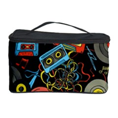 Music Pattern Cosmetic Storage Case