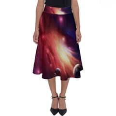 Nebula Elevation Perfect Length Midi Skirt