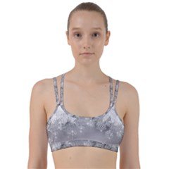 New Year Holiday Snowflakes Tree Branches Line Them Up Sports Bra by Sapixe