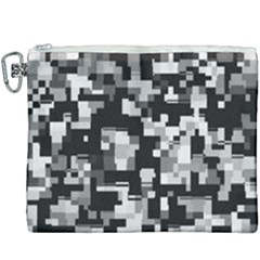 Noise Texture Graphics Generated Canvas Cosmetic Bag (xxxl) by Sapixe