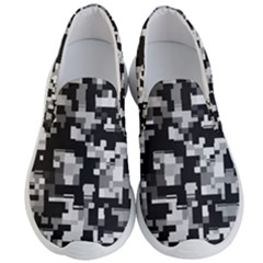 Noise Texture Graphics Generated Men s Lightweight Slip Ons