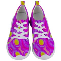 Noise Texture Graphics Generated Women s Lightweight Sports Shoes