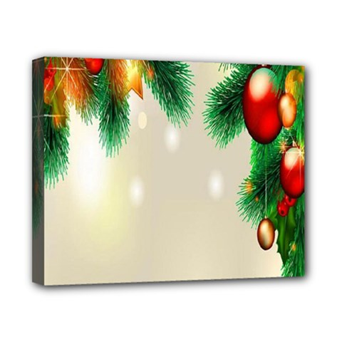 Ornament Christmast Pattern Canvas 10  X 8  by Sapixe
