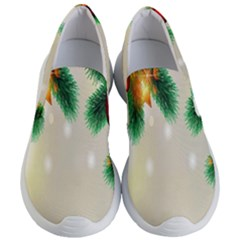 Ornament Christmast Pattern Women s Lightweight Slip Ons by Sapixe