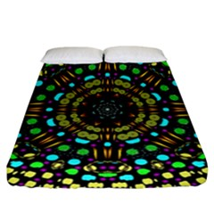 Liven Up In Love Light And Sun Fitted Sheet (california King Size) by pepitasart