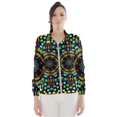 Liven Up In Love Light And Sun Wind Breaker (women) by pepitasart