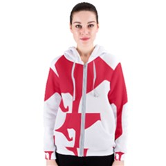 Australian Army Vehicle Insignia Women s Zipper Hoodie