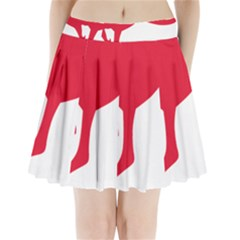 Australian Army Vehicle Insignia Pleated Mini Skirt