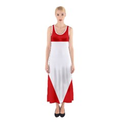 Roundel Of Austrian Air Force  Sleeveless Maxi Dress