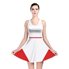 Roundel Of Austrian Air Force  Reversible Skater Dress