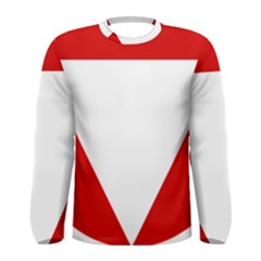 Roundel Of Austrian Air Force  Men s Long Sleeve Tee