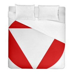 Roundel Of Austrian Air Force  Duvet Cover (full/ Double Size)
