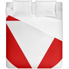 Roundel Of Austrian Air Force  Duvet Cover (california King Size)