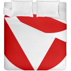 Roundel Of Austrian Air Force  Duvet Cover Double Side (king Size)