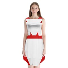Roundel Of Austrian Air Force  Sleeveless Chiffon Dress