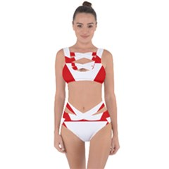 Roundel Of Austrian Air Force  Bandaged Up Bikini Set
