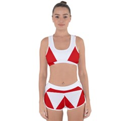 Roundel Of Austrian Air Force  Racerback Boyleg Bikini Set