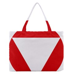 Roundel Of Austrian Air Force  Zipper Medium Tote Bag
