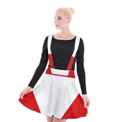 Roundel Of Austrian Air Force  Suspender Skater Skirt
