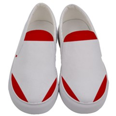 Roundel Of Austrian Air Force  Men s Canvas Slip Ons