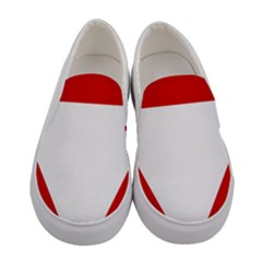 Roundel Of Austrian Air Force  Women s Canvas Slip Ons