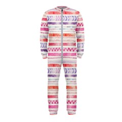 Watercolor Tribal Pattern Onepiece Jumpsuit (kids)