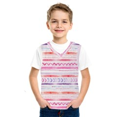 Watercolor Tribal Pattern Kids  Sportswear