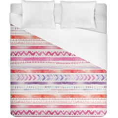Watercolor Tribal Pattern Duvet Cover (california King Size)